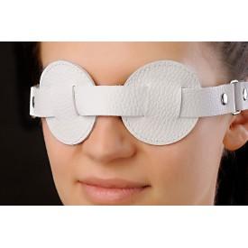 Белая маска-очки
