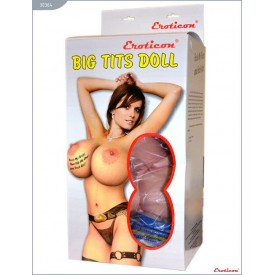 Надувная кукла «Брюнетка» с большой грудью